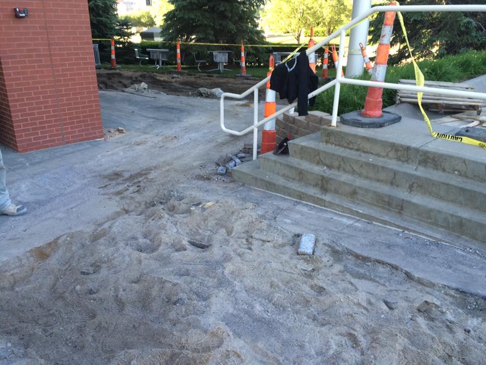 Concrete and asphalt project b douglas construction